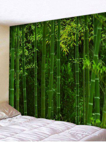 Fancy Wall Hanging Art Bamboo Forest Print Tapestry