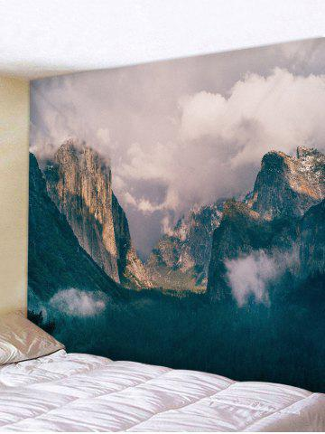 Store Wall Hanging Art Mountains Print Tapestry