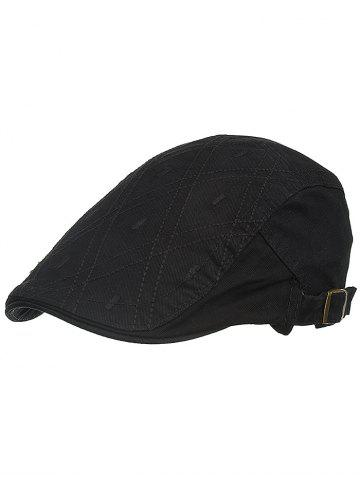 Shops Rhombus Embroidery Driver Hat