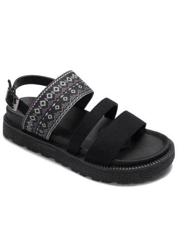 Store Strappy Platform Ankle Wrap Ethnic Sandals