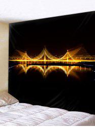 Wall Hanging Art Bridge Lighting Print Tapestry -