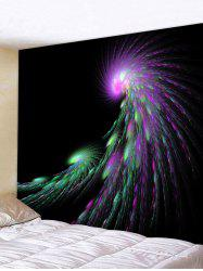 Firework Print Tapestry Wall Hanging Art Decoration -