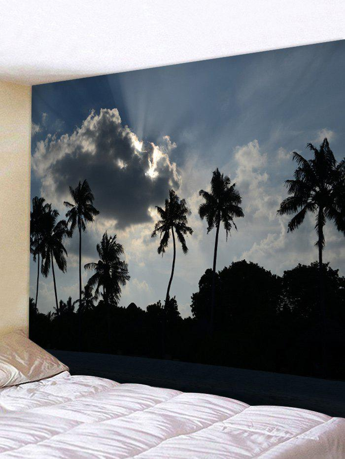 Store Wall Hanging Art Palm Trees Pattern Tapestry