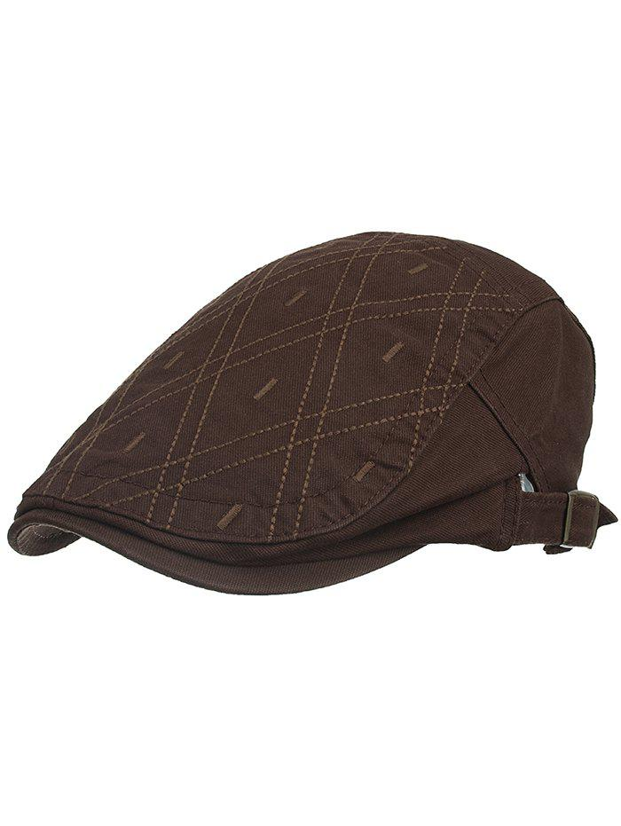 Best Rhombus Embroidery Driver Hat