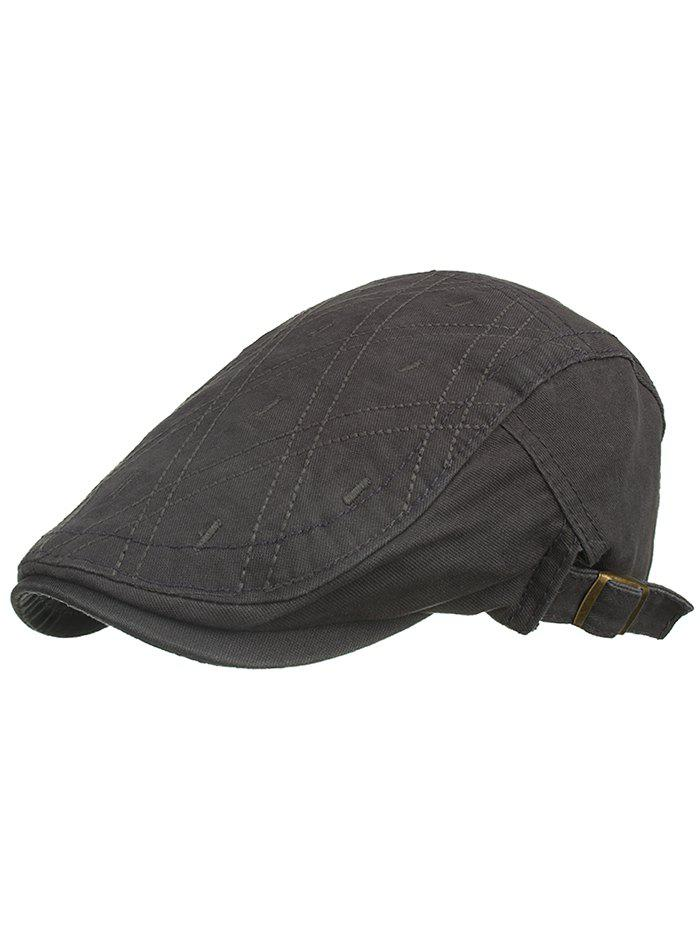 New Rhombus Embroidery Driver Hat