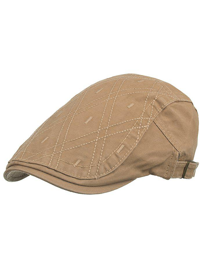 Affordable Rhombus Embroidery Driver Hat