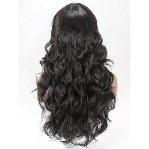 Long Side Bang Body Wave Synthetic Wig -