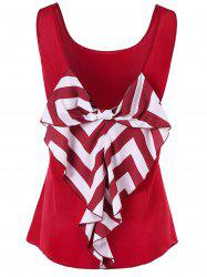 Bowknot Embellished Tank Top -