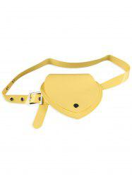Heart Shape Funny Bag Jelly Waist Belt -