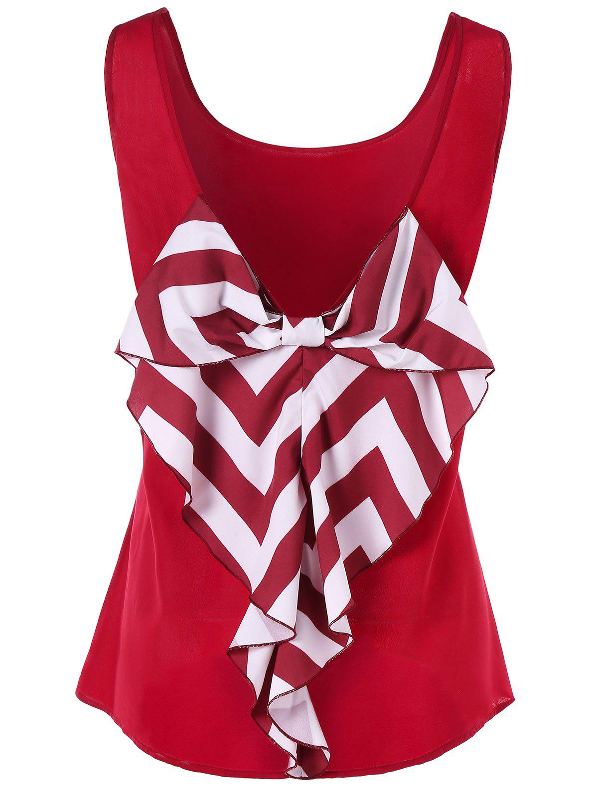 Cheap Bowknot Embellished Tank Top