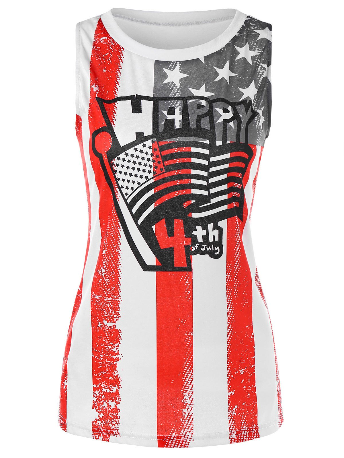 Trendy USA Independence Day Tank Top