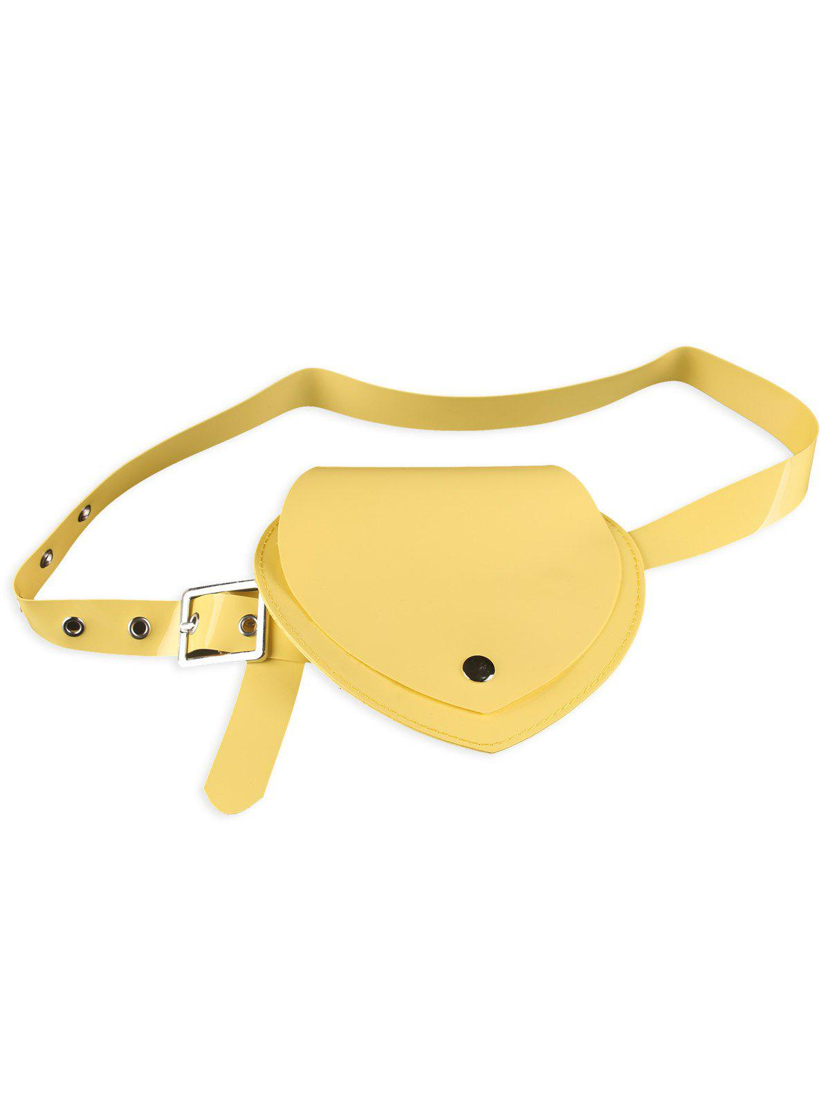 Buy Heart Shape Funny Bag Jelly Waist Belt