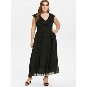 Plus Size Ruffle Maxi Dress -