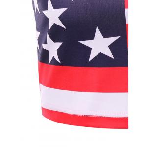 American Flag Crop Slip Top -