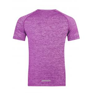 Short Sleeve Breathable Fitness T-shirt -