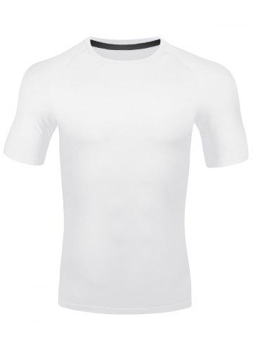 Buy Short Sleeve Quick Dry Stretchy Fitness T-shirt