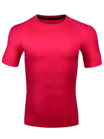 Shops Short Sleeve Quick Dry Stretchy Fitness T-shirt