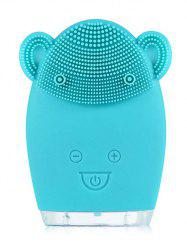 Ultrasonic Silicone Deep Cleansing Facial Cleansing Device -