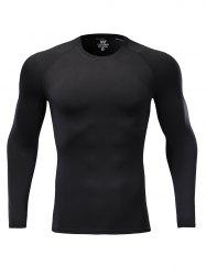 Quick Dry Fitted Stretchy Breathable Fitness T-shirt -
