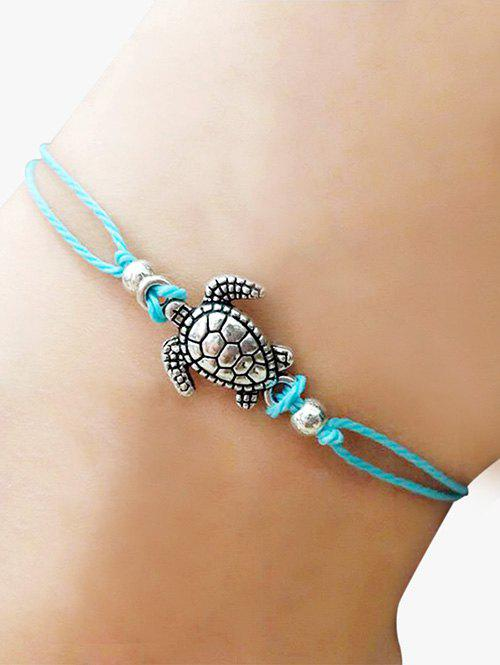 Trendy Tortoise Adjustable Braid Rope Anklet