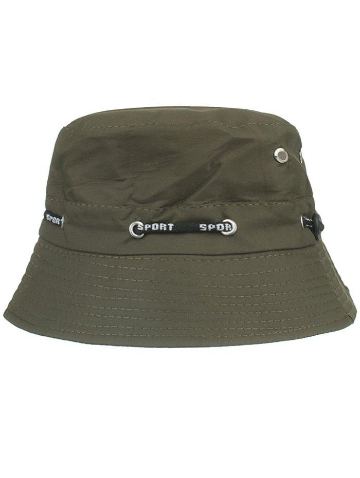 Outfit Outdoor Line Embroidery Bucket Sun Hat