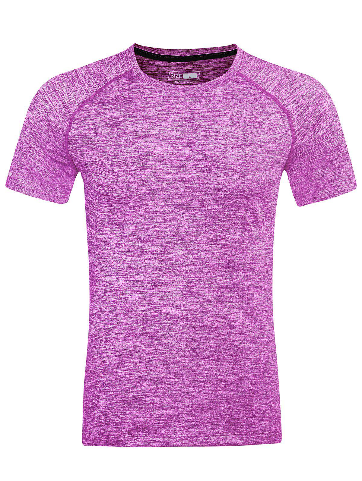 Hot Short Sleeve Breathable Fitness T-shirt