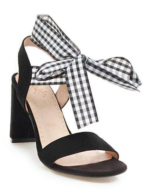 Shop Ankle Strap Chunky Heel Chic Sandals