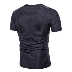 Breathable Deep V-neck T-shirt -