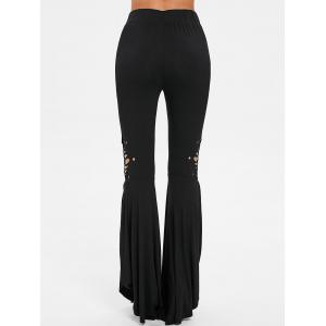 High Waisted Shredding Bell Bottom Pants -
