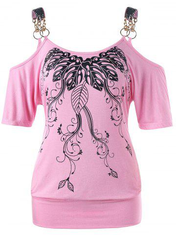 green xl stylish scoop neck half sleeve hollow out front lace up t