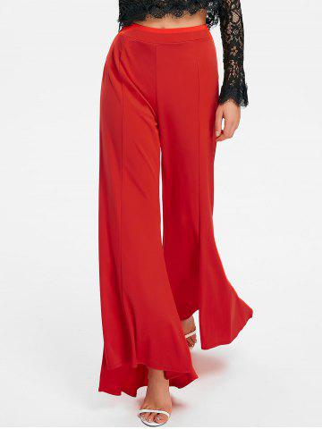 Outfits Flow Asymmetrical Flared Pants