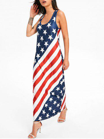 Outfit American Flag Racerback Maxi Dress