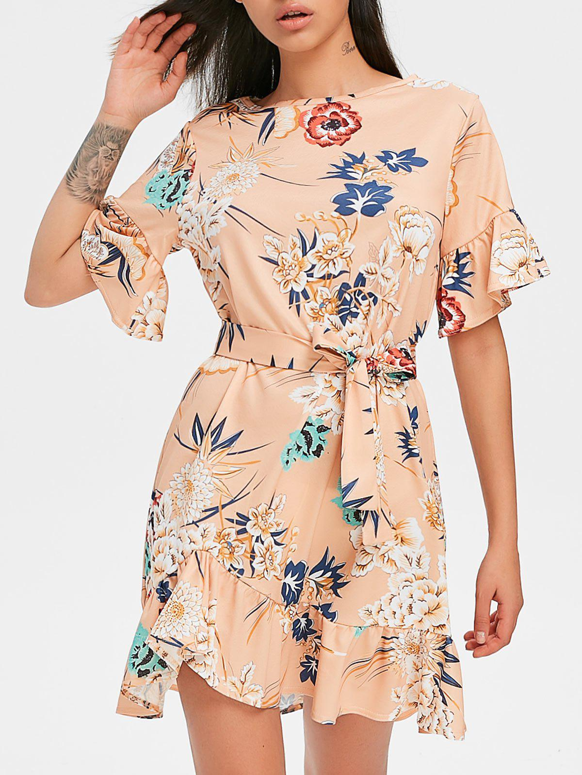 New Casual Floral Print Dress