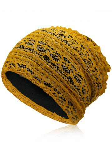 Online Lightweight Soft Lace Slouchy Beanie