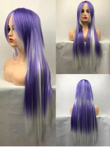 Shop Long Side Bang Straight Colormix Cosplay Synthetic Wig