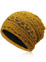 Lightweight Soft Lace Slouchy Beanie -