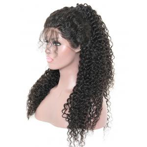 Long Free Part Deep Curly Wave Synthetic Lace Front Wig -