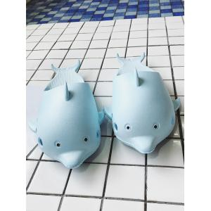 Dolphin Slip On Swim Slippers -
