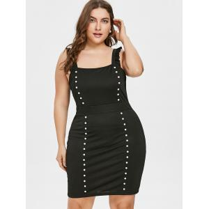 Plus Size Flounce Bodycon Club Dress -