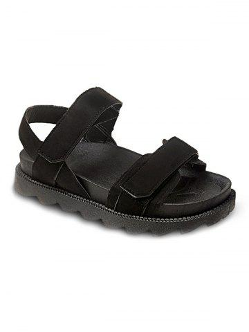 Cheap Skid Proof Hook and Loop Closure Casual Sandals