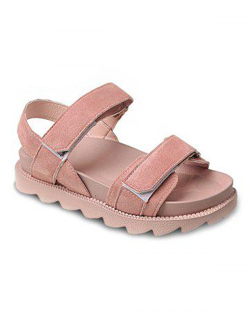 Fashion Skid Proof Hook and Loop Closure Casual Sandals