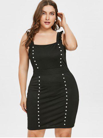 Plus Size Little Black Club Dress Free Shipping Discount And