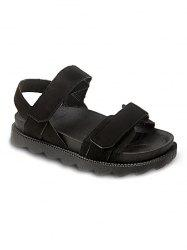Skid Proof Hook and Loop Closure Casual Sandals -