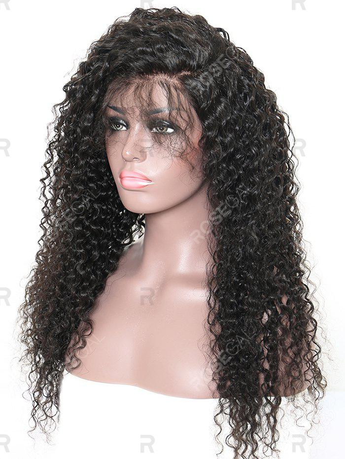 Sale Long Free Part Deep Curly Wave Synthetic Lace Front Wig