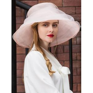 Vintage Soft Oversized Dress Church Tea Party Hat -