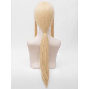 Anime Violet Evergarden Cosplay Long Straight Ponytail Wig -