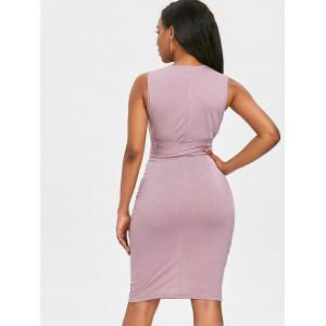 Самостоятельная Галстук НЧ Bodycon Платье -