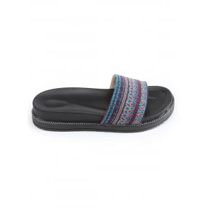 Patchwork Platform Leisure Slides -