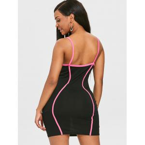 Cami Strap Short Bodycon Dress -