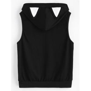 Hooded Tank Top with Cat Eear -